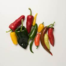 Hot Mixed Peppers