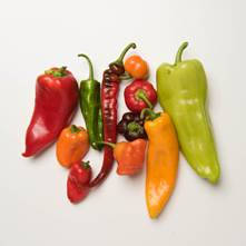Sweet Mixed Peppers