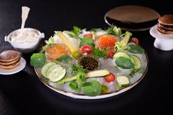 Exotic caviar delivered in an exquisite gourmet collaboration  Image