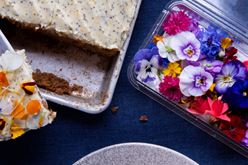 Carrot Cake with Chevré Frosting Image