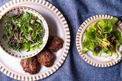 Best ground lamb recipes: Garden Lettuce Wraps with Lamb Image