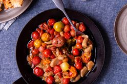 Tomatoes in Garlic Confit Image