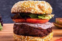 Best ground lamb recipes: delicious Elysian Fields Lamburgers Image
