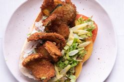 Fried Zucchini Po Boy Image