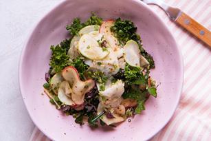 Kohlrabi and Apple Salad with Caraway Thumbnail