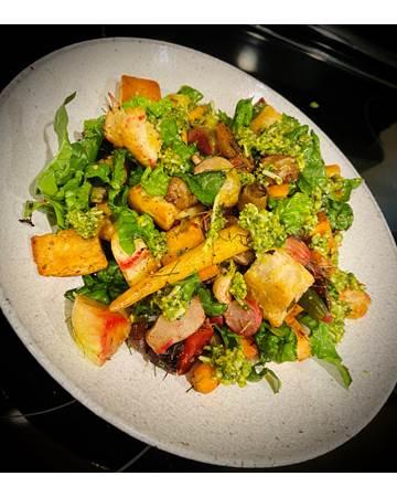 roasted-vegetables-panzanella
