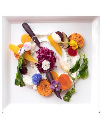 Farm Salad by Chef Shaun Christopher Lewis