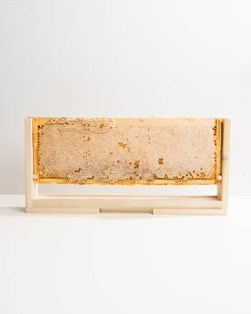 Whole-Frame-Honey-Isolated