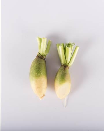 Radish-Lime-Green-Baby-Isolated